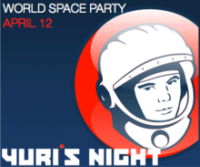 Yuri's Night World Space Party