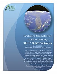 The 2nd SPACE Habitation Conference