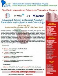 Advanced School in General Relativity: Relativistic Astrophysics and Cosmology
