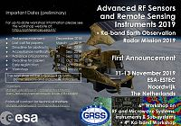 6th Workshop on Advanced RF Sensors and Remote Sensing Instruments, ARSI'19