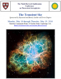 The Ninth Harvard-Smithsonian Conference on Theoretical Astrophysics,