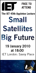 The IET Appleton Lecture 2010, Small Satellites - Big Future