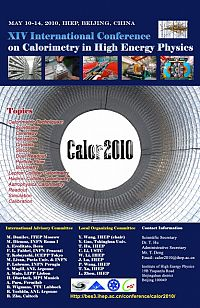 CALOR2010, International Conference on Calorimetry in High Energy Physics