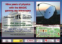 Colloquium: Nine years of physics with the MAGIC gamma ray telescopes