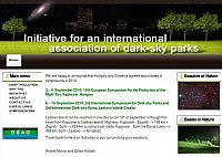 3rd International Symposium for Dark-sky Parks and 3rd International Dark-sky Camp