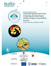 Local and regional authorities mitigating and adapting to climate change using satellite services