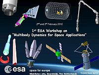1st ESA Workshop on Multibody Dynamics for Space Applications