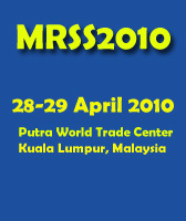 MRSS 6th International Remote Sensing & GIS Conference and Exhibition
