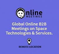 Global Online B2B Meetings on Space Technologies & Services