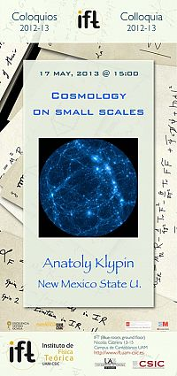 Colloquium: Cosmology on small scales