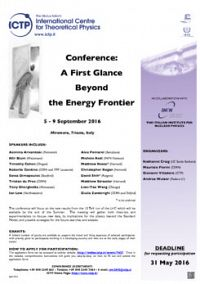A First Glance Beyond the Energy Frontier