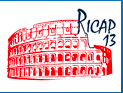 Ricap'13  Roma International Conference on Astro-Particle physics